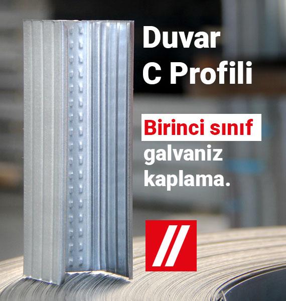 Duvar C Profili