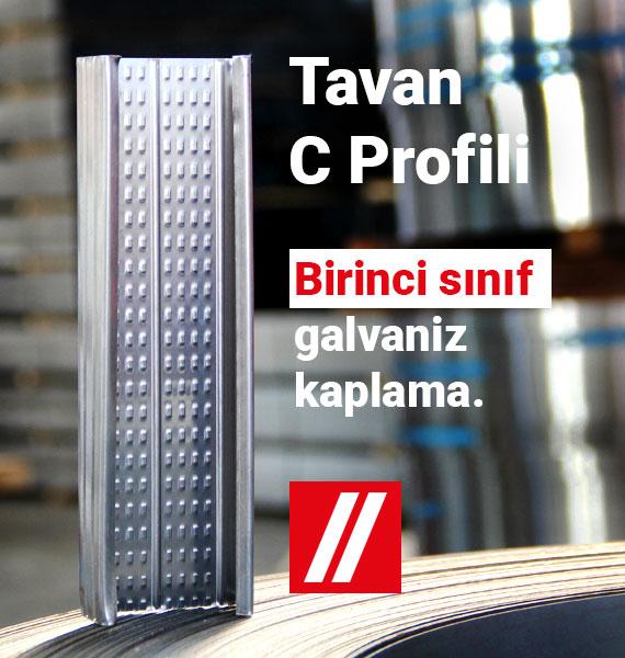 Tavan C Profili